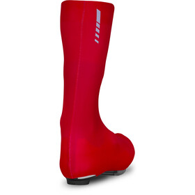 GripGrab Race Aero TT Race Day Lycra Shoe Covers 2, red